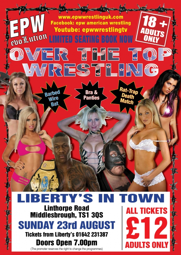 EPW LIBERTY'S IN TOWN MIDDLESBROUGH  ADULTS ONLY